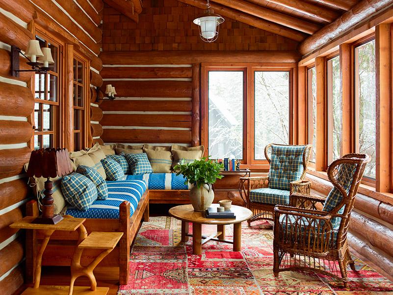 Juan Montoya Design Fishing Lodge Montana